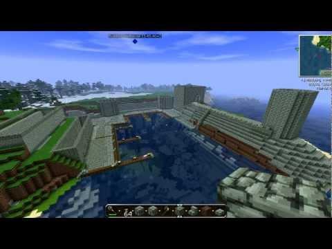 Ciudad Medieval Minecraft || El Puerto 2ª Parte || poco a poco..By Barbarrose