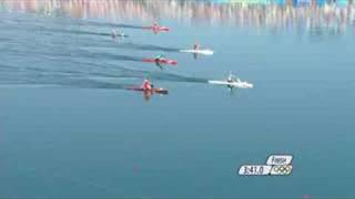 The men give it their all in the canoe/kayak C1 1000M event at the Beijing 2008 Summer Olympic Games.http://www.olympic.org/canoe-kayak-flatwater-c-1-1000m-canoe-single-menhttp://www.olympic.org/beijing-2008-summer-olympics