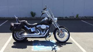 6. 2008 Harley-Davidson FXSTC Softail Custom