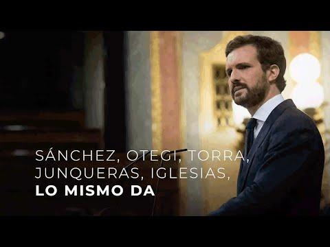Sánchez, Otegi, Torra, Junqueras, Iglesias, lo mis...