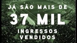 O Allianz Parque Vai Lotar Já são mais de 40 mil ingressos Vendidos