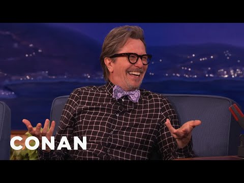 gary - To help Gary prepare for his starring role, Francis Ford Coppola sent over a casket for him to really inhabit the role. More CONAN @ http://teamcoco.com/video Team Coco is the official YouTube...