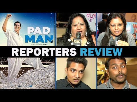 Padman Movie Review By Reporters| Akshay Kumar, So