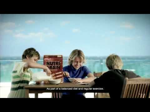 Kelloggs Nutri-Grain Get The Ball Rolling TVC 2009