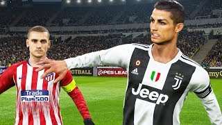 Video PES 2019 | ATLETICO MADRID VS JUVENTUS | Full Match and Amazing Goals | Gameplay PC MP3, 3GP, MP4, WEBM, AVI, FLV Desember 2018