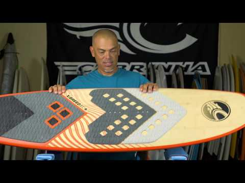 Mounting the Surf Board Front Pad Cabrinha Kitesurfing - presented by Surfpirates