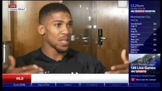 Anthony Joshua On Beating Breazeale