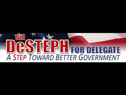 Senator Jeff McWaters Supports Bill DeSteph