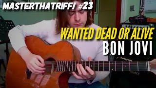 Wanted Dead Or Alive Guitar Lesson Pt.1 - Bon Jovi - Intro ...