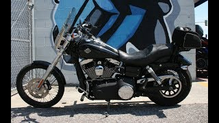10. 2011 Harley Davidson  FXDWG Dyna Wide Glide ... Sounds great w Rush Exhaust!