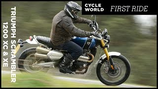 9. 2019 Triumph Scrambler 1200 XC And XE First Ride