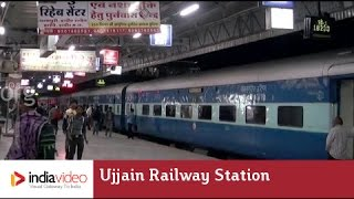 Ujjain India  City new picture : Ujjain Railway Station Madhya Pradesh | India Video