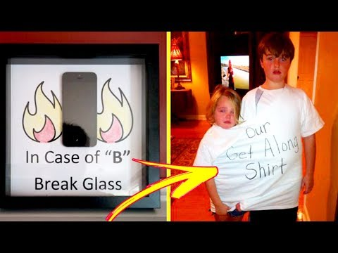 Genius Parents Who Know How To Deal With Misbehaving Kids 「 funny photos 」