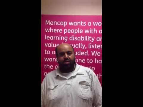 Youssef tells a joke about drugs - Mencap's comedy competition 2013