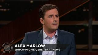 Subscribe to the Real Time YouTube: http://itsh.bo/10r5A1BBreitbart News Editor-in-Chief Alex Marlow joins Bill for a conversation about right-wing media, Russian meddling, and free speech.Connect with Real Time Online:Find Real Time on Facebook: https://www.facebook.com/MaherFind Real Time on Twitter: https://twitter.com/RealTimersFind Real Time with Bill Maher Official Site: http://itsh.bo/HttKcM.Find Real Time with Bill Maher on HBO GO® http://itsh.bo/iioY87.Find Real Time with Bill Maher on Connect: http://connect.hbo.com/real-time-bill-maherFind Real Time on Instagram: http://instagram.com/realtimersThe Real Time blog: http://www.real-time-with-bill-maher-blog.com/It's HBO.Connect with HBO OnlineFind HBO on Facebook: http://Facebook.com/HBOFollow @HBO on Twitter: http://Twitter.com/HBOFind HBO on Youtube: http://Youtube.com/HBOFind HBO Official Site: http://HBO.comFind HBO Connect: http://Connect.hbo.comFind HBO GO: http://HBOGO.comFind HBO on Instagram: http://Instagram.com/hboFind HBO on Foursquare: http://Foursquare.com/hboCheck out other HBO ChannelsHBO: http://www.youtube.com/hboGame of Thrones: http://www.youtube.com/GameofThrones True Blood: http://www.youtube.com/trueblood HBO Sports: http://www.youtube.com/HBOsports HBO Documentary Films: http://www.youtube.com/HBODocs Cinemax: http://www.youtube.com/Cinemax HBO Latino: http://www.youtube.com/HBOLatino