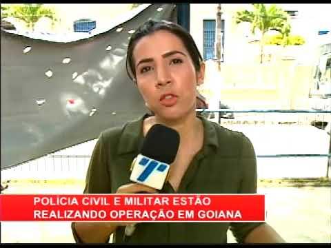 [RONDA GERAL] Polícia Civil e Militar estão realizando operação em Goiana