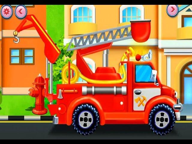 Мультики про машинки Как работает пожарная машина