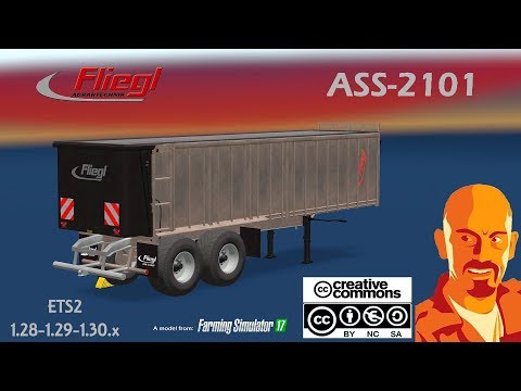 FLIEGL ASS-2101 AGRAR TRAILER ETS2 1.30.x