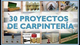 30 proyectos de carpintería 2017