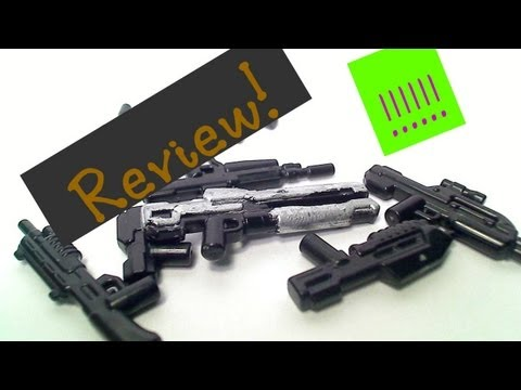 Brickarms lego halo 4 and halo 3 gun's review!