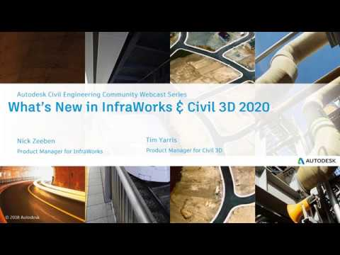 [Webinar] Introducing InfraWorks and Civil 3D 2020