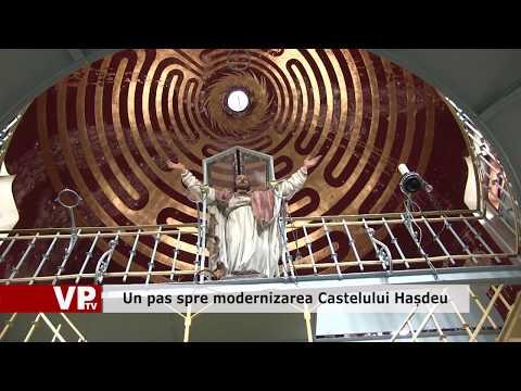 Un pas spre modernizarea Castelului Hașdeu