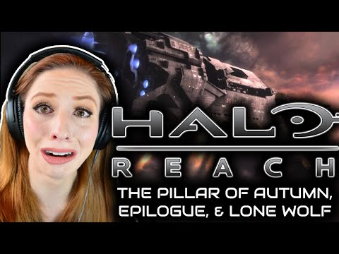 I Beat Halo Reach for the FIRST Time Blind | Part 9: The Pillar of Autumn, Epilogue, and Lone Wolf