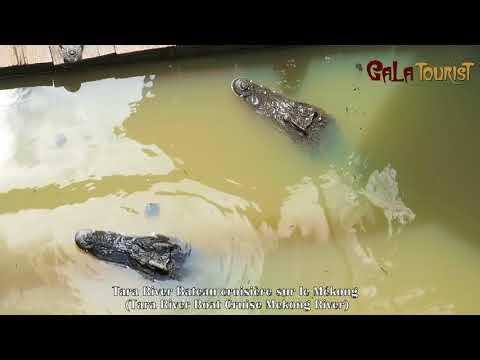 Tara River Bateau croisière sur le Mékong (Tara River Boat Cruise - Galatourist)