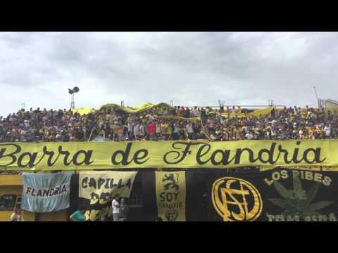La 14 esta re loca, hoy no podemos perder - La Barra de Flandria - Flandria