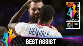 Watch this great assist by Antoine Diot against Serbia. The 2014 FIBA Basketball World Cup will take place in Spain from 30 August - 14 September and will fe...