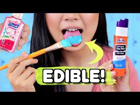 DIY EDIBLE SCHOOL SUPPLIES !! Weird Pranks for School | JENerationDIY (видео)