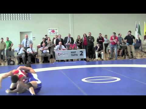 Senior National Championships 2012: 55 kg Steven Takahashi vs. Aso Palani