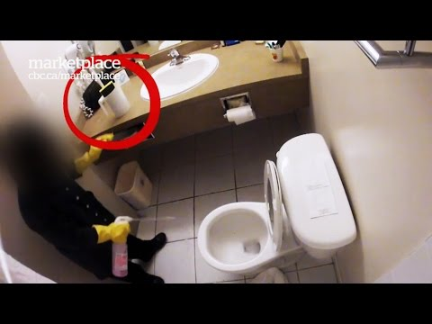 Dirty hotel rooms: Hidden camera shows what really gets cleaned (CBC Marketplace) (видео)