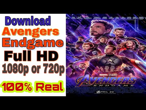 Download Avengers Endgame in Full HD 1080p or 720p Hindi 100 Real. 🔥How to Download Marvel Avengers