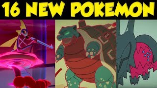 16 NEW POKEMON REVEALED In The Pokemon Direct! New Pokemon Sword and Shield DLC by Verlisify