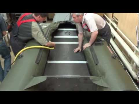 надувная лодка из пвх сборка-разборка
