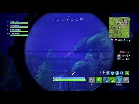 Longest Fortnite snipe on Xbox
