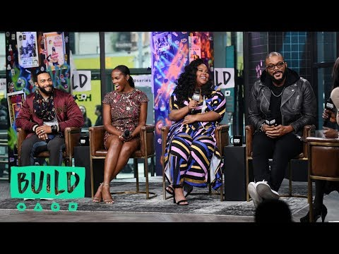 "Tyler Perry, Tika Sumpter, Omari Hardwick & Amber Riley Discuss ""Nobody's Fool"""