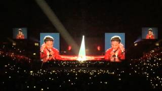 Taeyang's solo at Big Bang's Made Tour in Los Angeles on October 3rd, 2015.