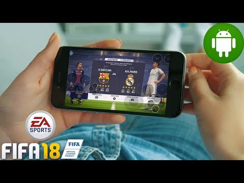 Playing FIFA 18 On My Android Device [ Mobile ]