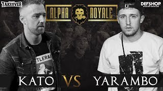 Alpha Royale x TopTier Takeover Battle #2 Kato vs Yarambo