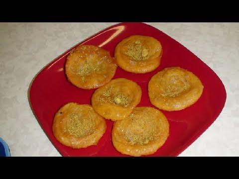 Sweet Satta or Phenori video recipe or Sweet Khaja or Balushahi - Indian Kutchi sweet - Dessert
