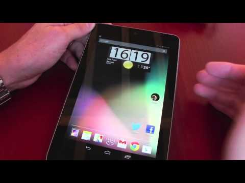 Asus Google Nexus 7: anteprima video Google Nexus 7