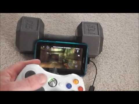 How to connect an Xbox 360 Controller ( wired ) to a Samsung Galaxy Tab 2 7.0 Android Tablet