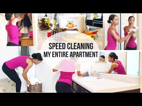 CLEAN WITH ME! | SPEED CLEANING MY APARTMENT! Video HD MP3 MP4 ...