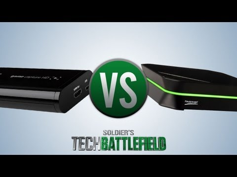 PVR - On today's Tech Battlefield, we're putting 2 game capture devices to the test: the Hauppauge HD PVR 2 vs. Elgato Game Capture HD. We're comparing the design,...