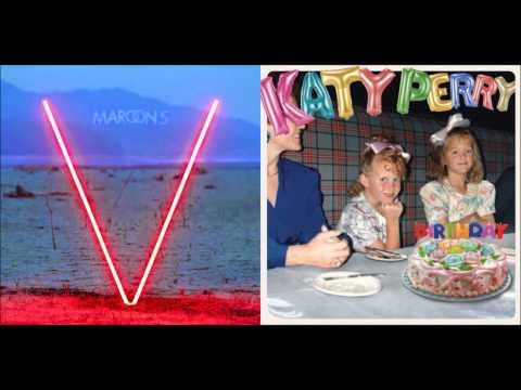 Maroon 5 vs. Katy Perry - Birthday Sugar (Demo Mashup)