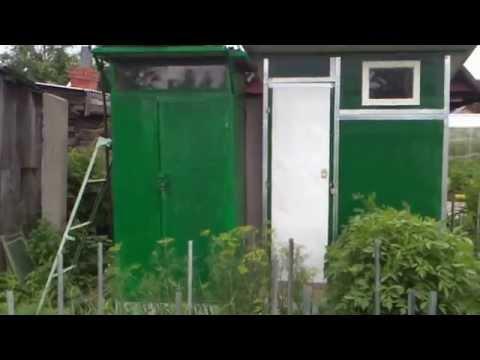 самодельный летний душ на даче (видео)