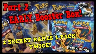 EARLY XY Evolutions Booster Box! 45 Packs! Pt 2 by Master Jigglypuff and Friends