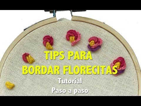 :::TIPS para hacer FLORECITAS COQUETAS::: (видео)